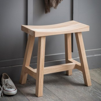 Clockhouse Stool - Raw Oak - FUOA50 (002)
